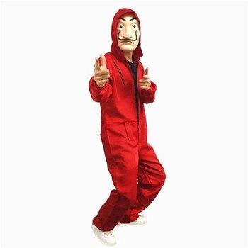 Косплей костюм сериала Бумажный дом La casa de papel