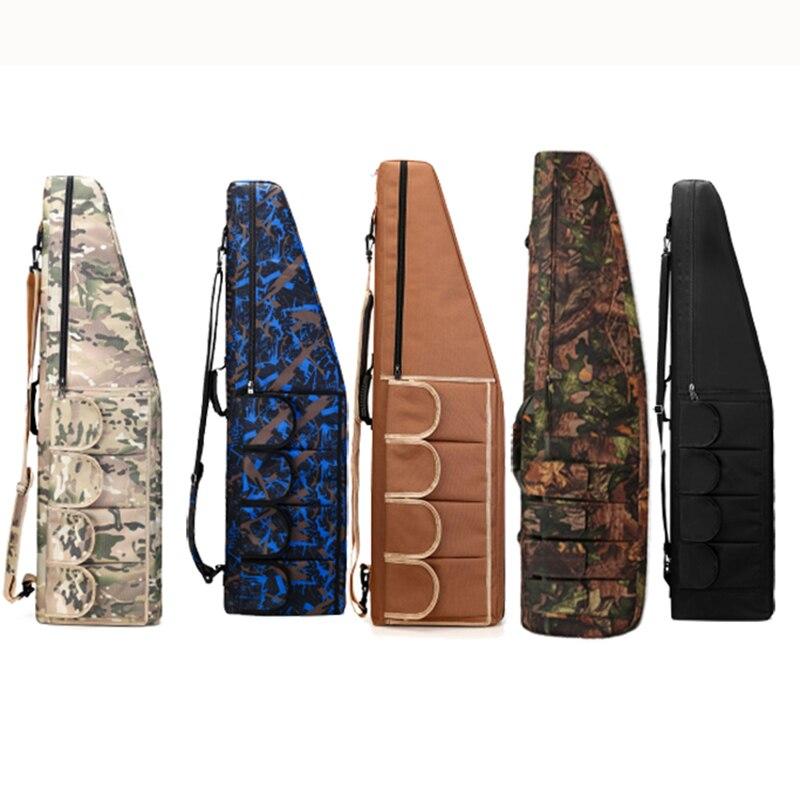 130 cm sac de pistolet tactique Airsoft Paintball chasse fusil de tir étui de carabine sac