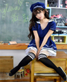 Sexy Lingerie students blue Costumes for Women fantasias femininas erotic Toys Eroticas Products Uniform