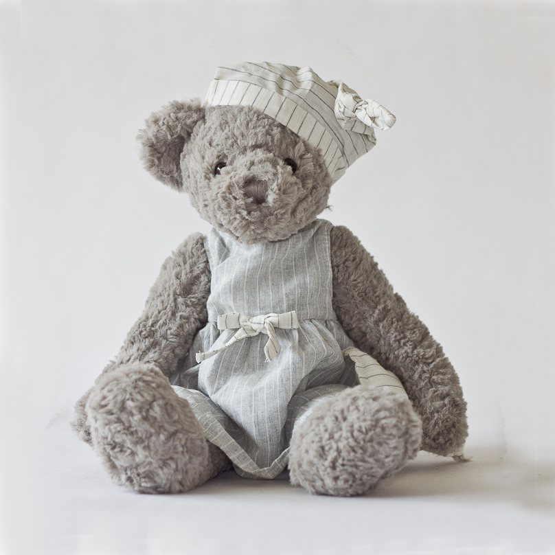 Love Bear Plush Toy Teddy Bears Stuffed Soft Animal Toys Cute Kids Doll Birthday Gift Baby Decorative Toy Newborn Pillow 1pcs green cute 7 super mario bros yoshi and apple rare cute soft plush toy doll kids birthday gift boy plush game toys