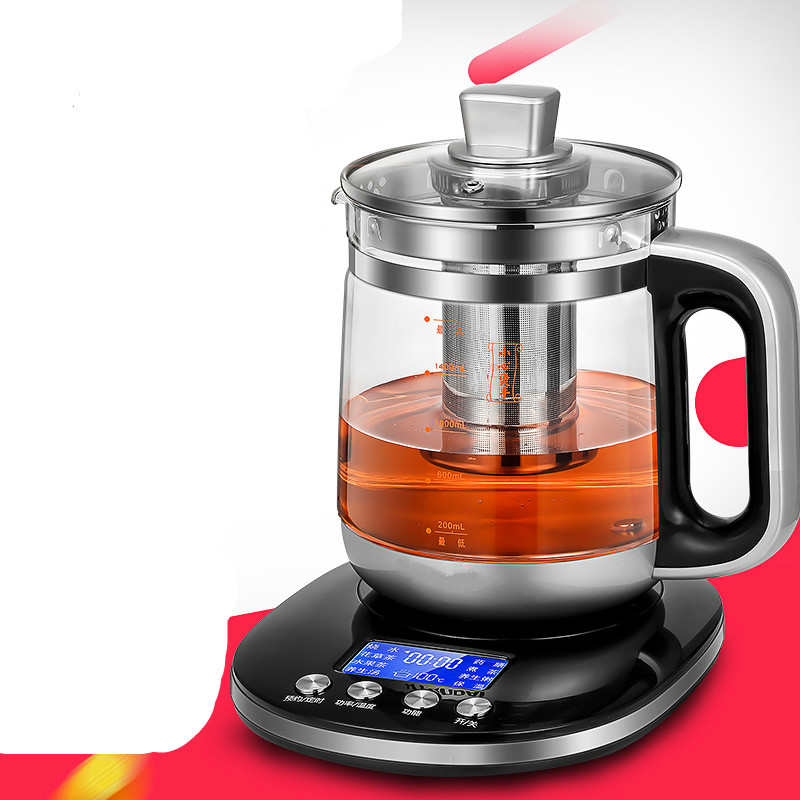 Electric kettle Health pot full automatic multi-function liquid crystal thickened glass tea