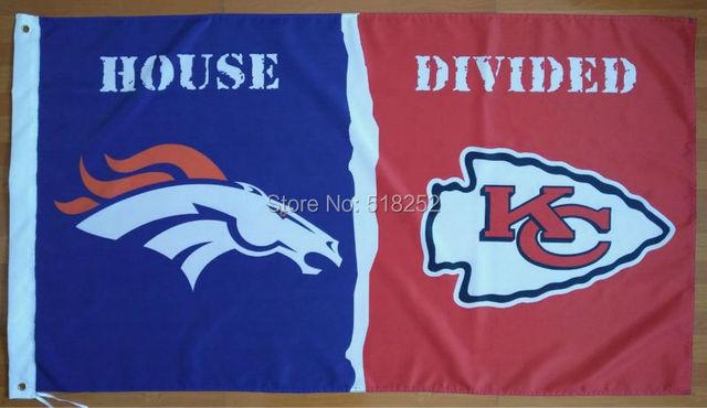 Aliexpresscom Buy Denver Broncos Kansas City Chiefs House - Custom vinyl stickers kansas city