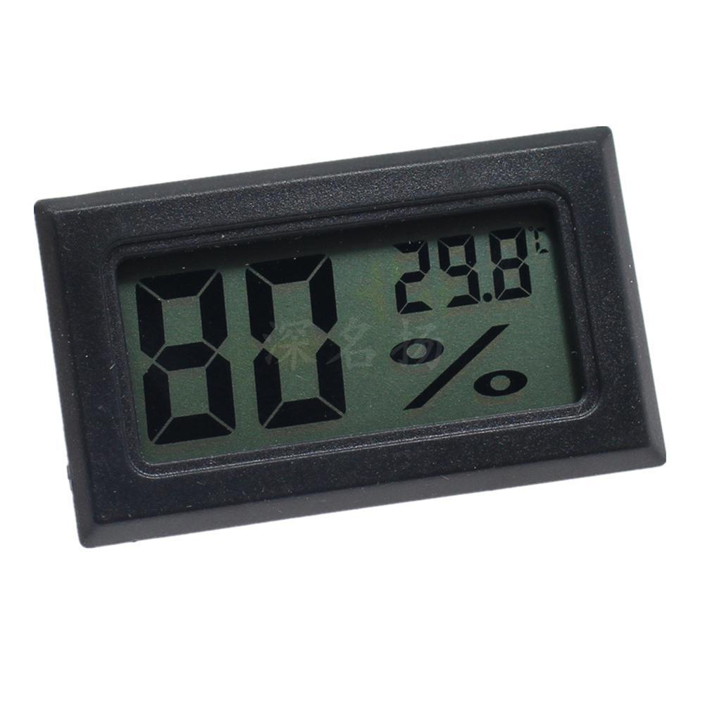 Image 3 - LanLan ミニ液晶デジタル温度計湿度計屋内ポータブル温度センサー湿度楽器    グループ上の ホーム