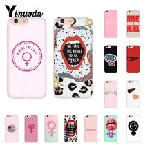 Yinuoda feminist logo TPU Phone Case Cover Shell for iPhone X XS MAX  6 6s 7 7plus 8 8Plus 5 5S SE XR 10