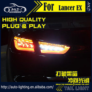 АКД автомобильный Стайлинг, задний фонарь для Mitsubishi Lancer EX Tail светильник s Lancer, светодиодный задний фонарь, сигнал, светодиод DRL, стоп-сигнал, з...