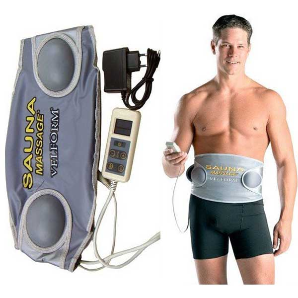 electric body massager waist Sauna Massage belt Velform Professional Slimming Belt Body Health care beauty Massager