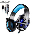 Aaliyah Original Each G9000 Led Gaming Headphone for PlayStation 4 PS4 iPhone Samsung 3.5mm Headset With Microphone