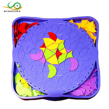 MYHOESWD Interactive Game Children Mental Development Tangram Parent-child Toy Educational Toys for Kids Table Games Brain
