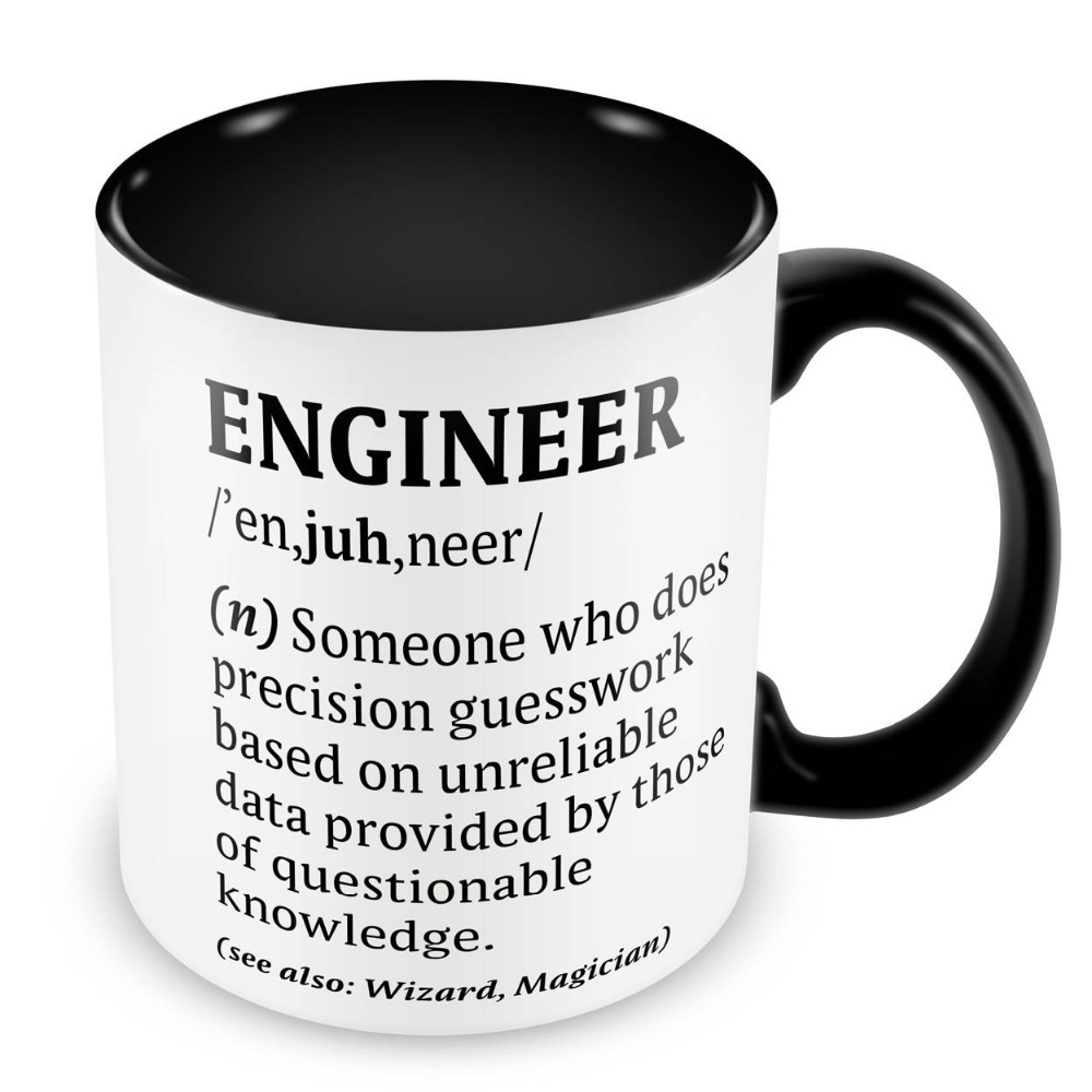 Definition of an Engineer Mugs travel cup beer cup present coffee ...