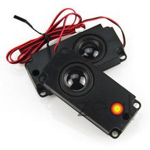 2PCS One Pair 100*45mm 100x45mm 8Ohm 5W Small Plastic Horn Stereo Speaker Loudspeaker For LCD Controller Board