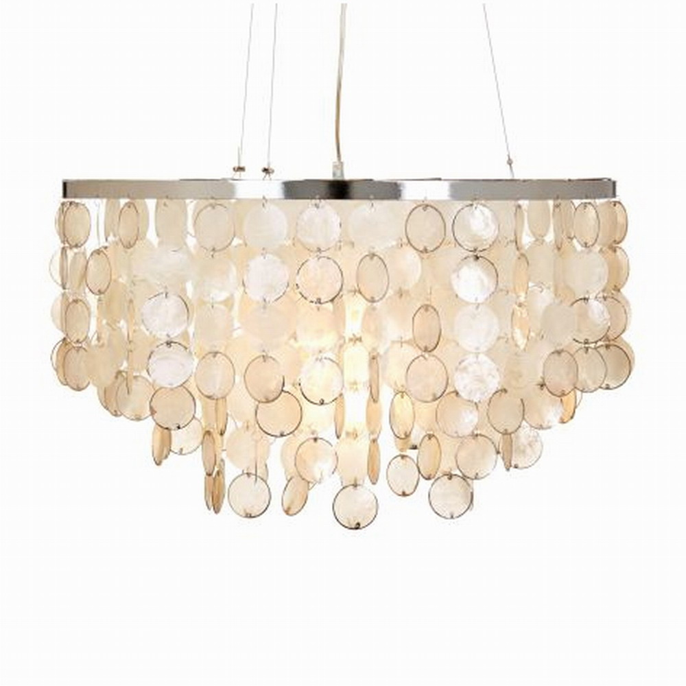 Modern white capiz seashell chandeliers for bedroom home hotel sea modern white capiz seashell chandeliers for bedroom home hotel sea shell lamp for living room dinging room decoration in chandeliers from lights lighting aloadofball Images