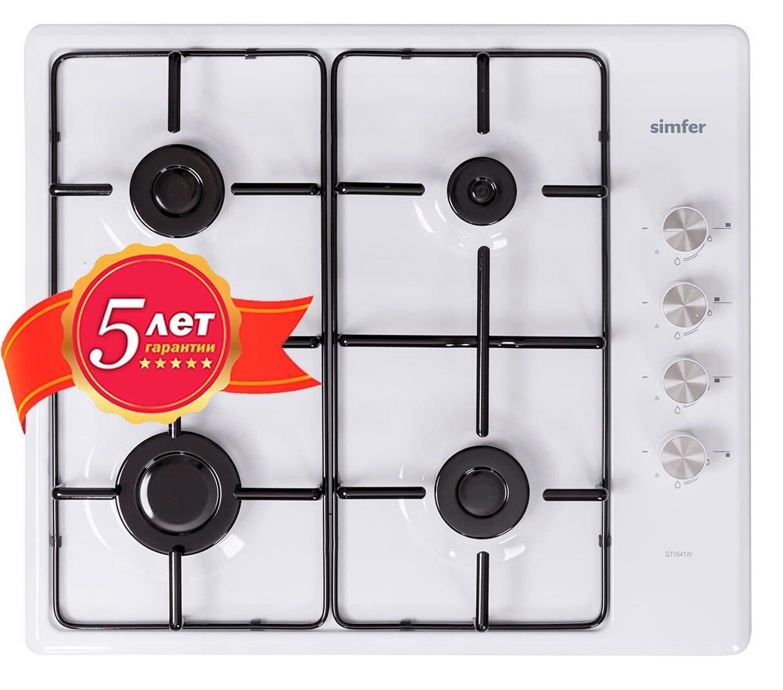Настольная газовая плита Simfer GT0541W цены