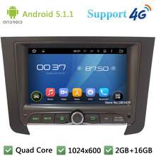 Quad Core 7″ 1024*600 2Din Android 5.1.1 Car DVD Video Player Radio Stereo FM DAB+ 3G/4G WIFI GPS Map For SsangYong REXTON 2014
