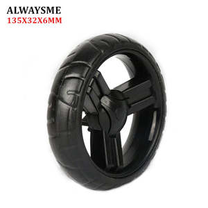 ALWAYSME Replacement-Parts Stroller-Wheels Wheels-Diameter 1PCS 134mm-Width 32mm-Hole
