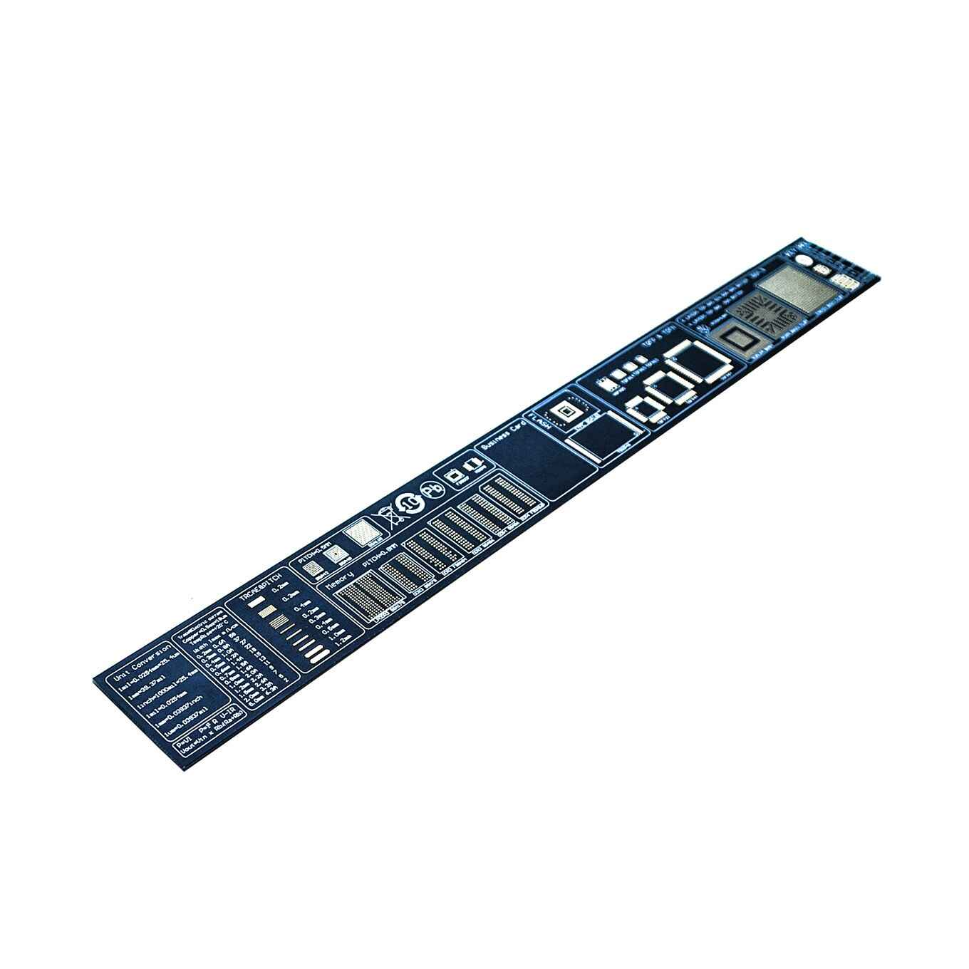30cm Multifunctional PCB Ruler EDA Measuring Tool Chip IC Electronic Engineers PCB Protractor For Geeks Makers Reference Ruler