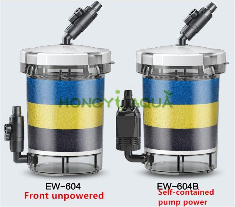 SUNSUN Silent Filter Bucket Fish Tank Filter Aquarium Supplies Durable HW-604 HW-604B EW-604 EW-604B
