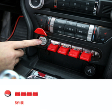 lsrtw2017 car one-button start trim for ford mustang 2015 2016 2017 2018 2019 6th generation