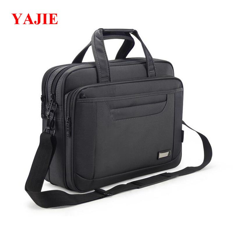 YAJIE 15 inches Notebook Computer Handbag Business File Bag Casual Oxford Men Travel Handbags High-capacity Messenger Bags L088 high quality authentic famous polo golf double clothing bag men travel golf shoes bag custom handbag large capacity45 26 34 cm