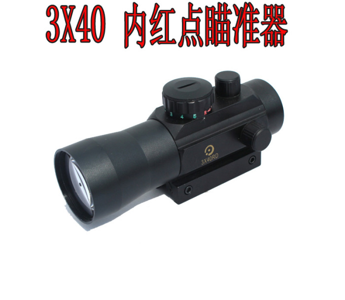New riflescope 3X Magnification 3x40 Red Green dot Rifle Scope For Hunting shooting holographic scope new military 4 14x44 rifle shooting scope for hunting cl1 0251