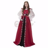 Custom Made Medieval Renaissance Victorian Gothic Dài Dresses Halloween Bóng Gowns Trang Phục Gothic Evening Dresses