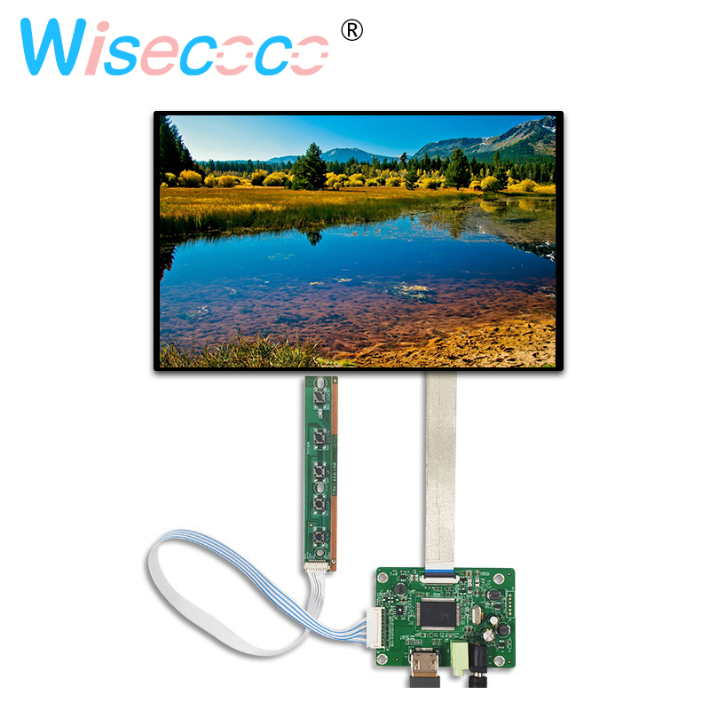 10.1 inch LCD Display 1920*1200 Monitor Screen Kit with HDMI Drive Board for Raspberry Pi 3 2B PC Windows 7/8/10 image