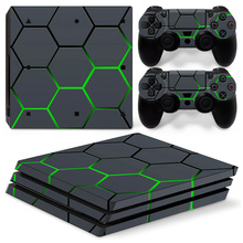 Waterproof Decal Sticker Vinyl Controller Skin Sticker for PS4 Pro Console