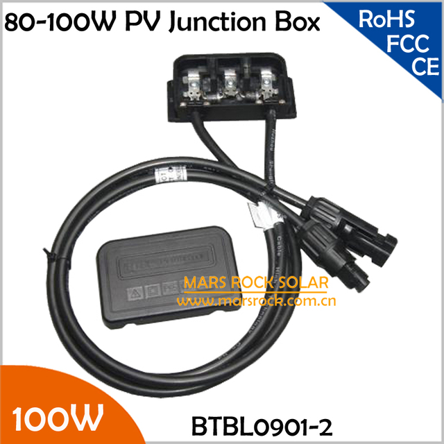 5pcs/Lot 80-100W PV Solar Junction Box with 2 Diodes (10SQ050)  sc 1 st  AliExpress.com & Aliexpress.com : Buy 5pcs/Lot 80 100W PV Solar Junction Box with 2 ... Aboutintivar.Com