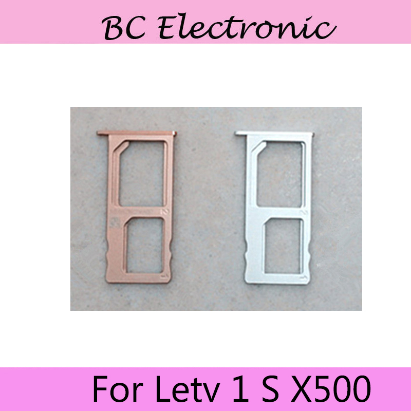 For Letv X500 Sim Card Holder Tray Card Slot For Letv 1 S X500 X 500 Letv Le One S 5.5 Inch MTK Helio X10 Octa Core Mobile Phone