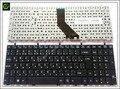 5 pc/lote Russo Teclado para DNS W370ET Clevo W350 W370 W350TE W655 W670 MP-12A36SU-4301W RU Preto teclado