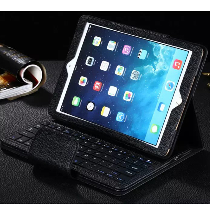 все цены на  ocube Luxury 2016 Ultra Slim Wireless Bluetooth Keyboard Leather Case Cover For Apple iPad Mini 1 2 3 7.9