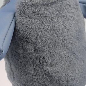 Image 4 - Cubierta de cabeza de Golf artesanal, cubierta de cabeza de Animal para Conductor, conejo de 440cc, Protector de cuero PU, cubierta de conductor de juguetes para palos de Golf, cubierta de madera