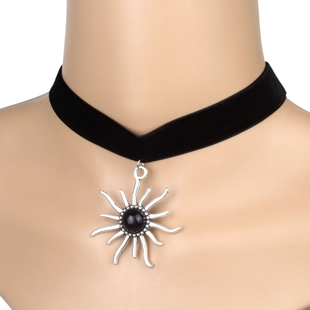 elder chain choker dixi selection products necklace wide colour simple shop