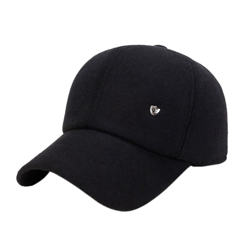 2018 Outdoor Sport Men Stuff Cap Wig for Men Baseball Tennis Male Sport Hats with Outdoor Woolen Earmuffs Baseball Cap