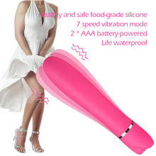snowshine  YLW 7 Frequency G-Spot Vibrating Clitoral Stimulator Vibrator Massager Adult Sex Toy  free shipping