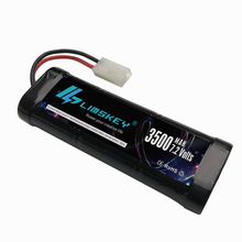 LIMSKEY 7.2V 3500mAh Rechargeable 7.2 V Ni-MH Battery Pack Tamiya Plug High Capacity SC*6 Cells for RC Control Car Toys Battery
