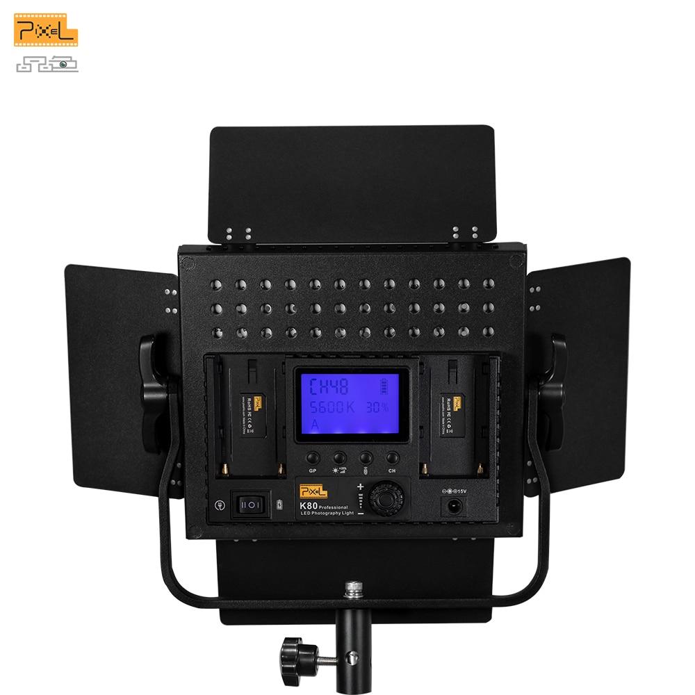 LED Lumină fotografică Trepied lumină de umplere Pixel K80 Lampă - Camera și fotografia - Fotografie 5