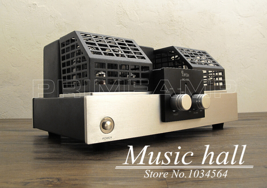 YAQIN MC-50L KT88x4 Vacuum Tube Hi-end Tube Integrated Amplifier ultra-linear push-pull merge tube amplifier free shipping yaqin ms 110b vacuum tube integrated amplifier brand new