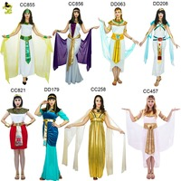 Adults Sexy Egyptian Pharaoh Costumes Queen Egyptian Pharaoh For Cleopatra Girls Halloween Party Fancy Dress Costume
