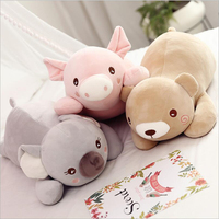 New Style Cute Cartoon Pig Bear Koala Plush Toy Stuffed Animal Doll Toys Soft Plush Pillow Children & Kids Gift