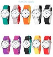 Оптовая Продажа Модные женские туфли кожа часы Повседневное аналоговые кварцевые часы Бизнес элегантный Бизнес круглый Форма наручные час