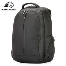 Kingsons 15.6 inch Laptop Backpacka Waterproof Men Women Backpack Mochila Quality Student Multi function Anti theft Packsack