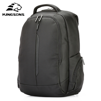 Kingsons 15.6 inch Laptop Backpacka Waterproof Men Women Backpack Mochila Quality Student Multi-function Anti-theft Packsack kingsons top quality teenager student girl women men backpack usb charge anti theft famous brand notebook laptop bag rucksack