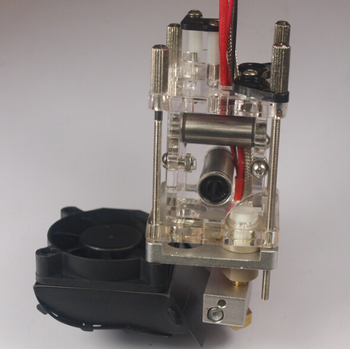 SWMAKER ultimaker original extruder kit for DIY 3D printer arylic extruder head kit/set extrusion head housing assembly kit