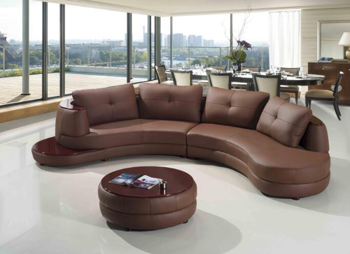 Wohnzimmer Sofa L Form Ledersofa Mit Moderne Sitzgruppe Designs Enthalten CouchtischChina Mainland
