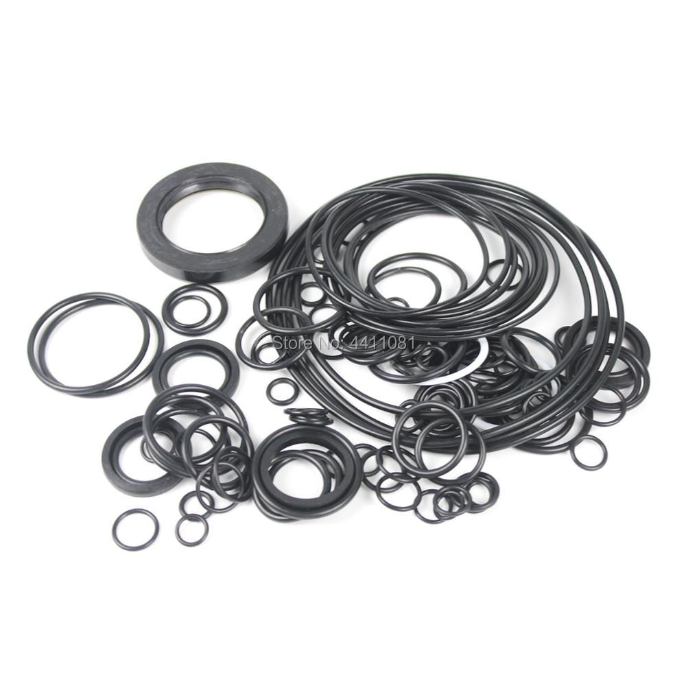 For Komatsu PC120-7 Main Pump Seal Repair Service Kit Excavator Oil Seals, 3 month warranty