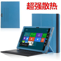 Ultra Slim Magnetic Folio Holder Stand PU Leather Protective Case Cover For Microsoft Surface Pro 3