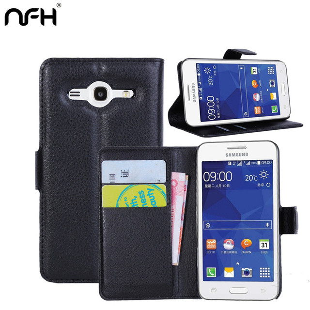 For Samsung G355 card holder case for samsung Galaxy Core 2 SM G355H SM-G355H Core2 G3558 leather phone case wallet flip cover
