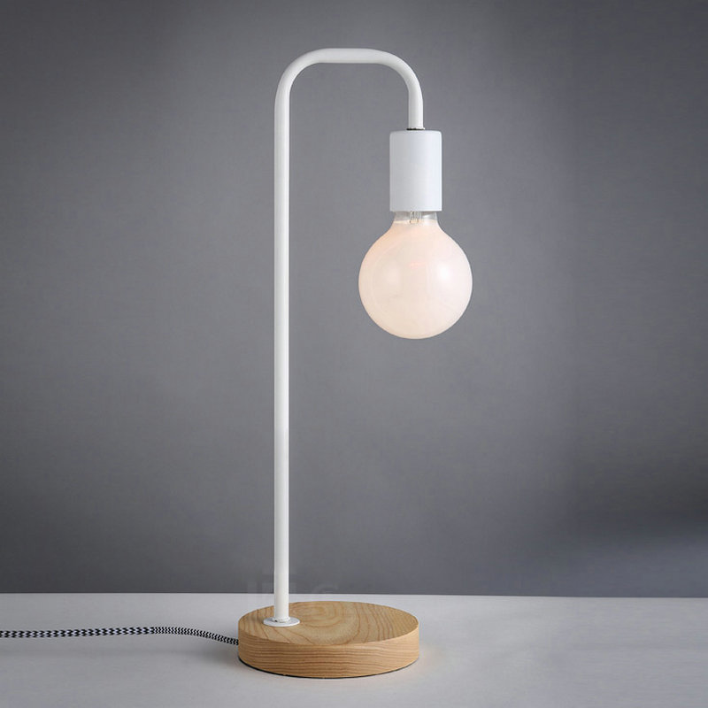 Beautiful Nordic Home Simple Modern Table Lamp Study Room Bed Room Lamp Korean Style Table  Lamp With