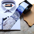 Frete Grátis novo 2017 dos homens casual masculino homem handmade gravata borboleta PARTIDO Europa Ocidental tinta neve vestido de gravata gravatas