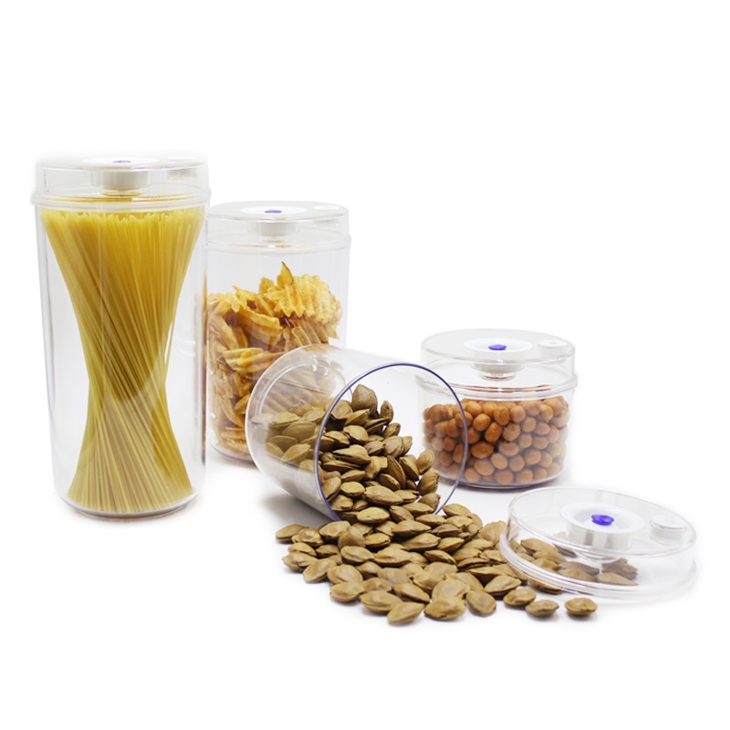 Qualifiziert Vakuum Lebensmittel Lagerung Halten Nudel Frische Vakuum Kanister 2.2l/1.6l/1.0l/0.7l Pumpfähig Vacuum Container Frische Erhaltung Elektrische Warmwasserbereiter